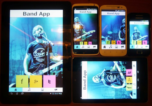 Musician - A Music Band Android App - 9
