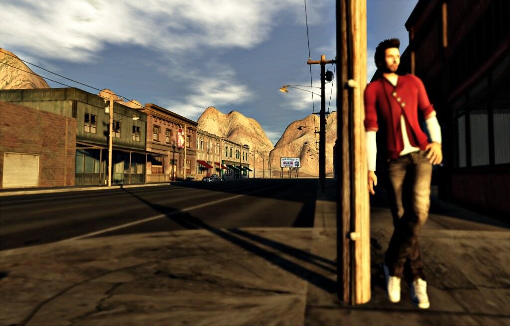 Ricco: street corner guy (by Ricco Saenz)