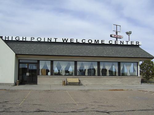 High Point Welcome Center, Kimball Nebraska