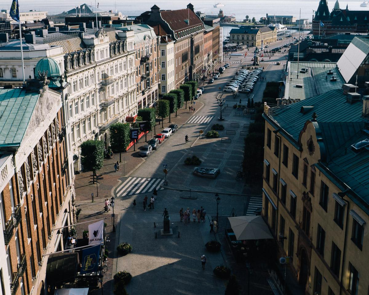 Vista de Helsinborg