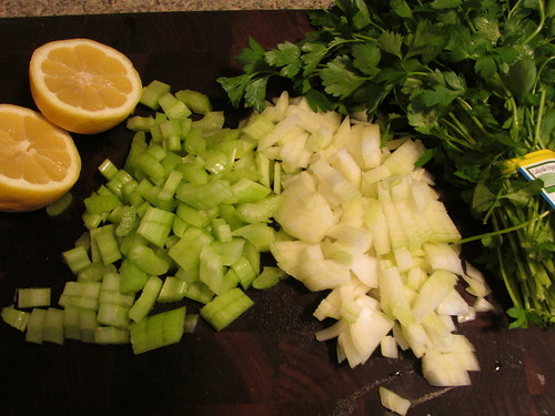 minimal chopping