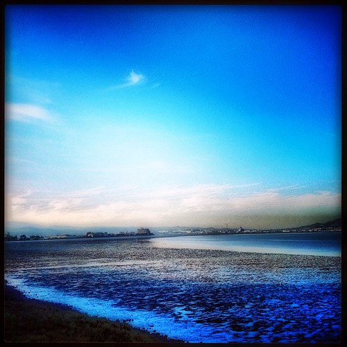 Tide out in #sanfrancisco bay by @MySoDotCom