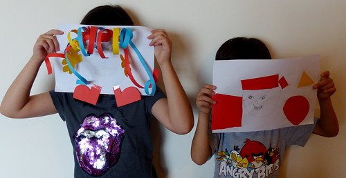Be Creative! Encourage your kids to do some art and craft!