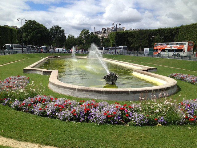 Fountain at the Champ de Mars