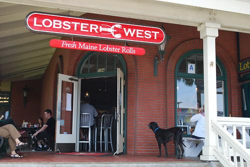 Lobster West Entrance