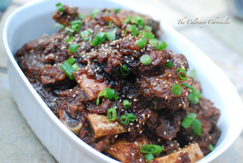 Galbijjim - Braised Beef Short Ribs