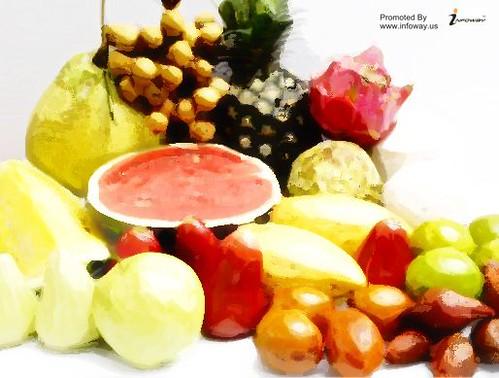 HD Fruits Wallpaper