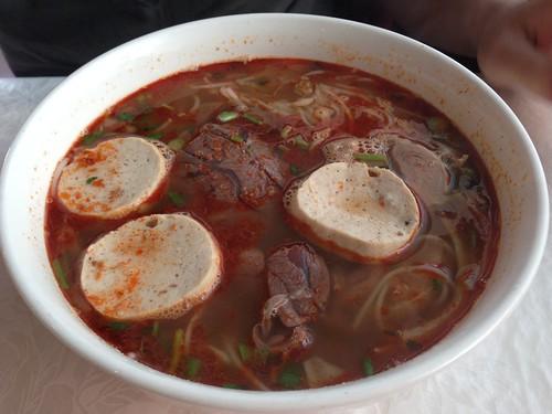Vietnamese soup Bun Bo Hue