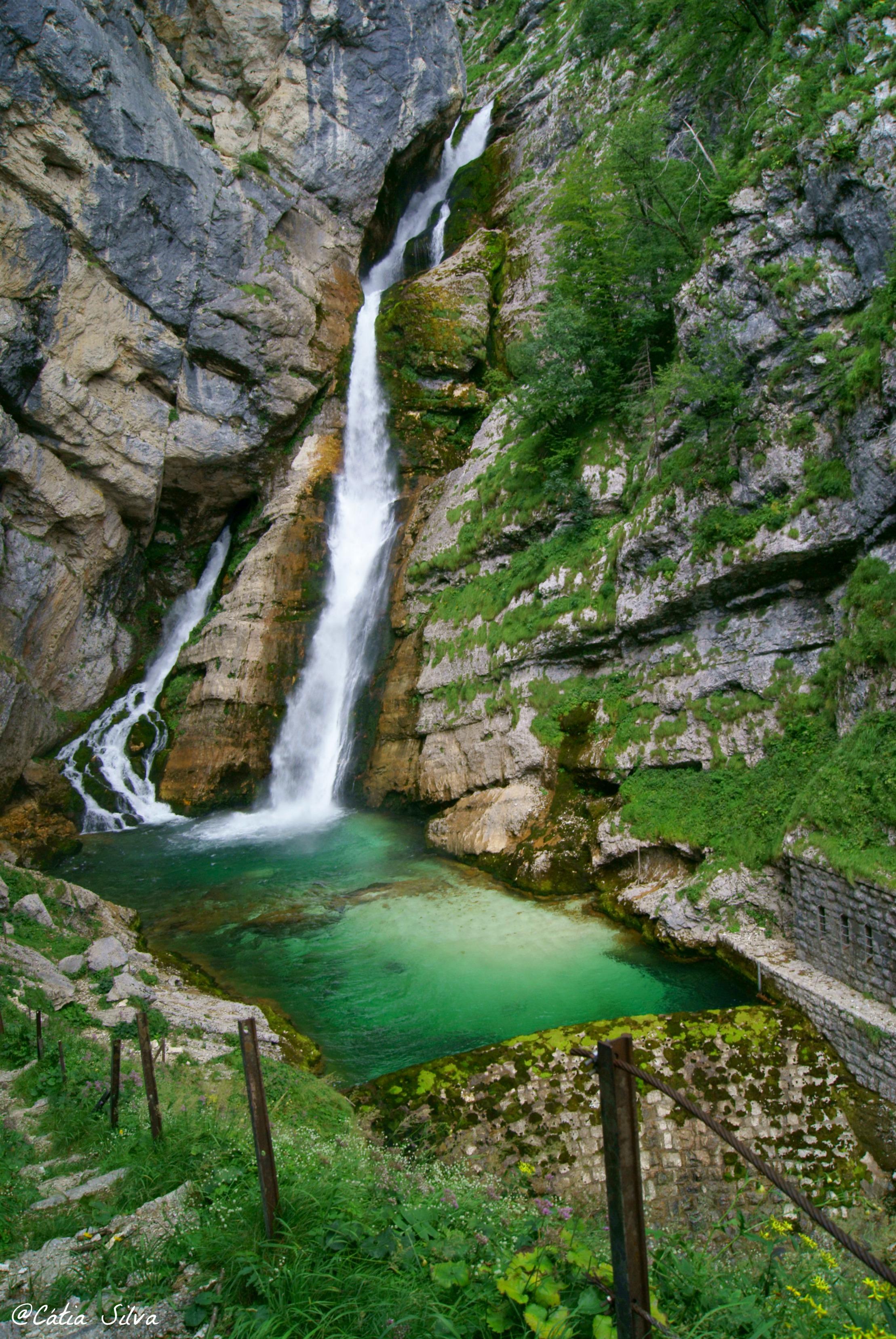 Slap Slavica - Lago Bohinj - Eslovenia (10)