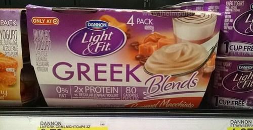 Dannon Light & Fit Greek Blends Caramel Macchiato