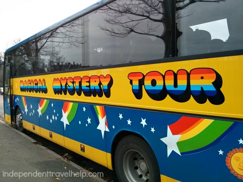 Magical Mystery Beatles Tour Bus