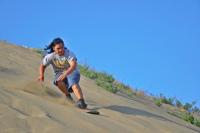 2nd Laoag La Paz Sand Boarding Competition