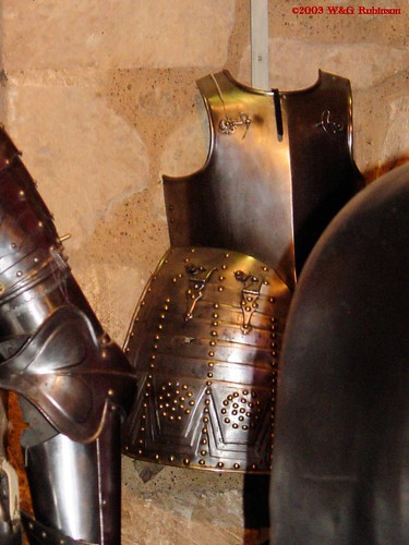 Armour for a Pikeman, seventeenth century, Tower Armoury, Spanish Armoury
