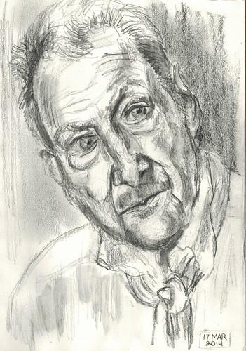 Lucian Freud by Husdant