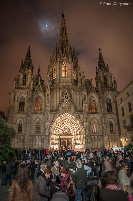 Catedral de la Santa Creu i Santa Eulalia in Barcelona (Cathedral of the Holy Cross and St. Eulalia)