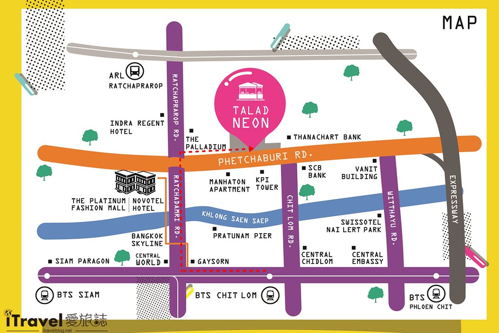 曼谷城中霓虹夜市 Talad Neon Downtown Night Market (72)