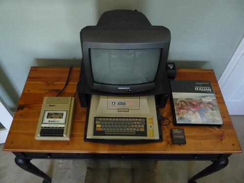Atari-400-Setup