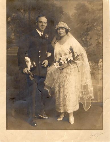 Fred Haughton Wedding
