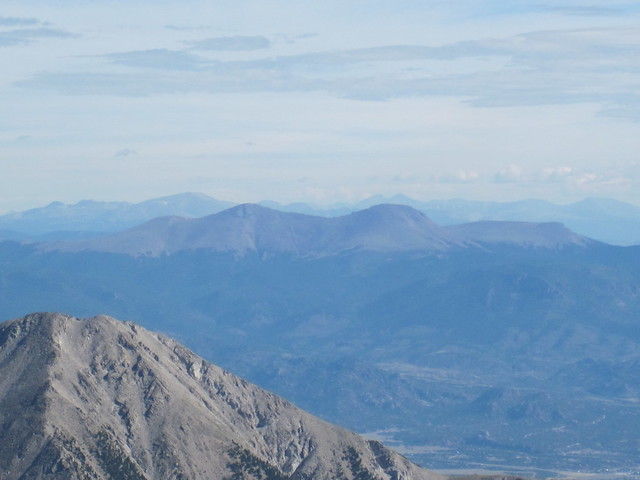 Picture from Mt. Antero, Colorado