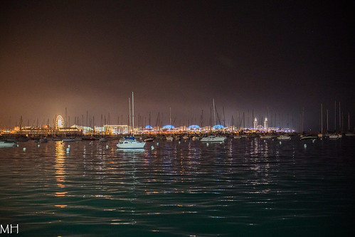 boats and the pier