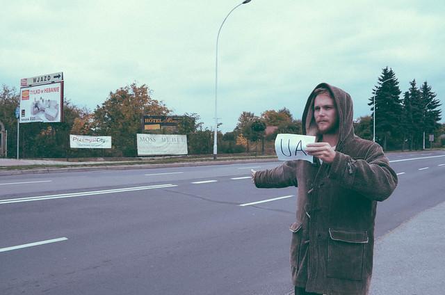 Hitchhiking into Ukraine-5