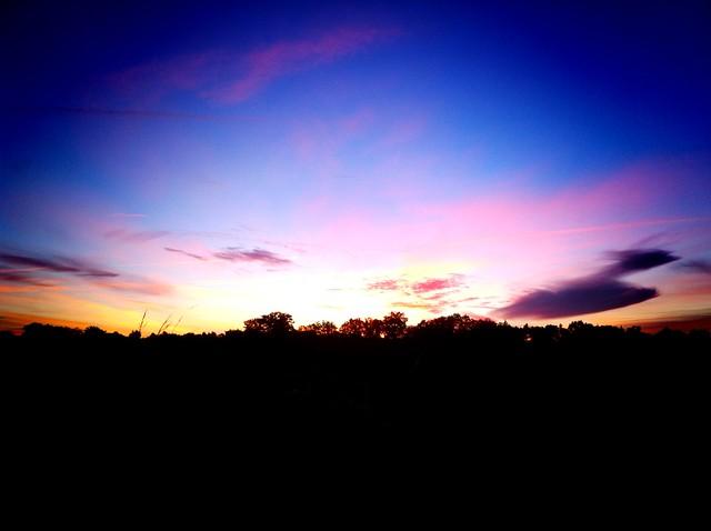 sunrise in d'ardeche