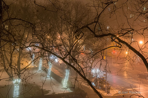 Foggy Grand Street by Joel Raskin