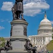 James A. Garfield Memorial Capitol Hill Washington (DC) April 2017