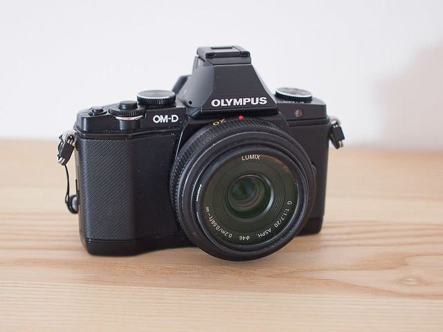 Olympus OMD EM5 with Panasonic f1.7 20mm prime lens