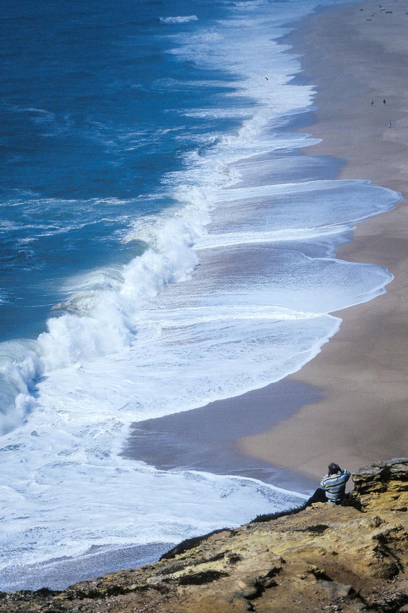 Playas en Nazaré