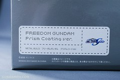 Metal Build Freedom Gundam Prism Coating Ver. Review Tamashii Nation 2012 (4)