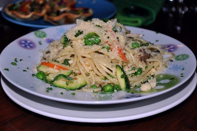 Pasta Primavera (with Zucchini)