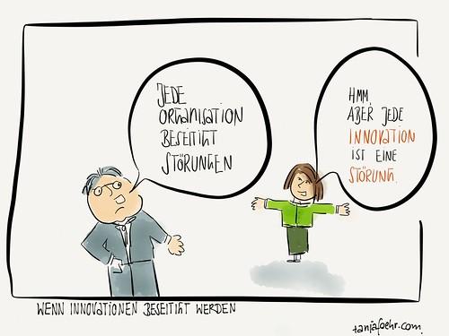 Wenn Innovationen beseitigt werden by Tanja FÖHR