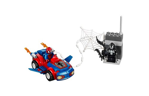 10665 Juniors Spider-Man Spider-Car Pursuit