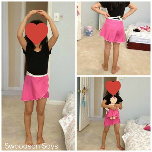 Girl and Doll Dance Skirt Set - Swoodson Says
