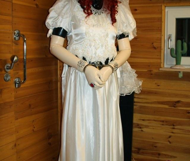 Forced Feminization Wedding Bride In Handcuffs