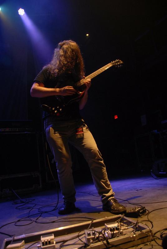 Kevin Hufnagel of Gorguts