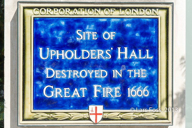 Site of Upholders' Hall