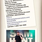 Sam Hunt with Maren Morris - In Orlando - #samhunt #marenmorris #concert #booknowforlater #sun #fun