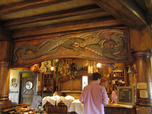the bar of the green dragon
