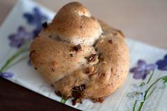 stilton-walnut stuffed buns