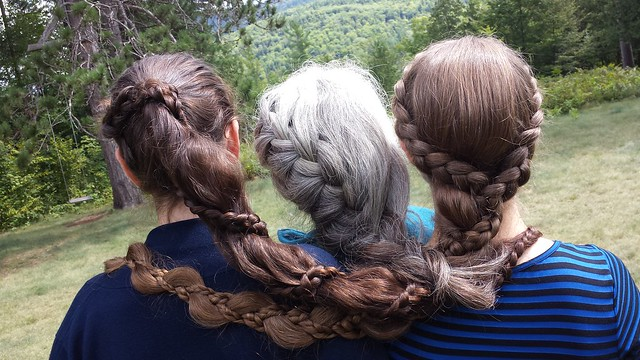 Double Dutch Braids On My Sisters Classic And My Knee