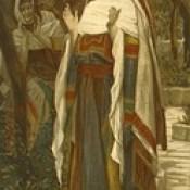 """James Tissot Bible c 1900 The Magnificat from """"La Vie de Notre Seigneur Jésus Christ"""