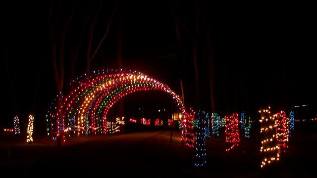 Christmas Light Display Eaton Ohio