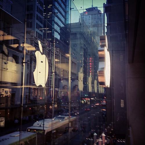 Apple #sydney #australia by @MySoDotCom