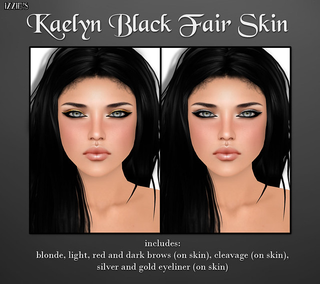 Black Fair (Kaelyn Black Fair Skin)