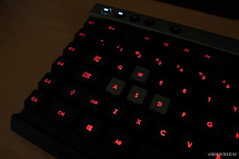 Corsair Raptor K30 and K50 Gaming Keyboards 17