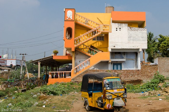 Colors Of India Houses In Rural And Small Towns