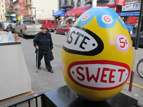 Faberge Big Egg Hunt NYC 2014: Ryan Cronin, Little Italy