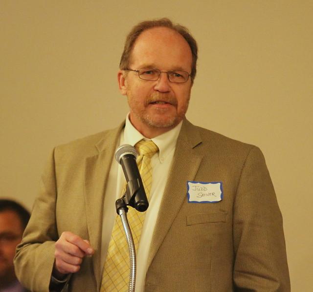 Judd Sather, Presenter for inductee Bill Germann.